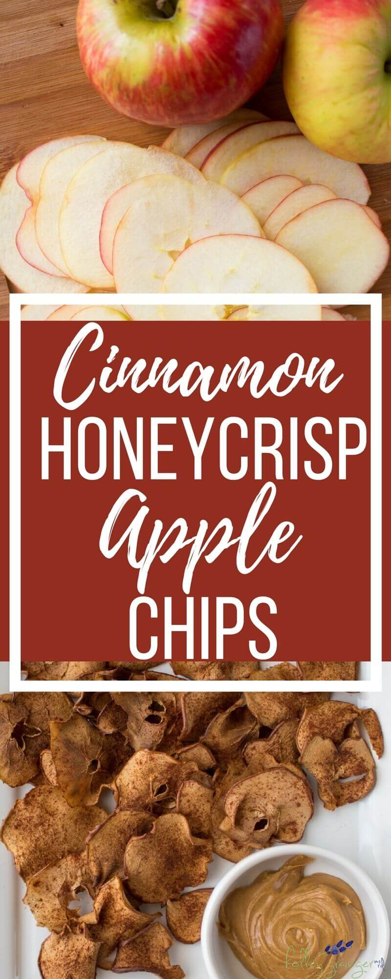 The ushering in of cool, crisp temperatures means one thing to me each year, Cinnamon Honeycrisp apples chips. Try making this simple snack today!