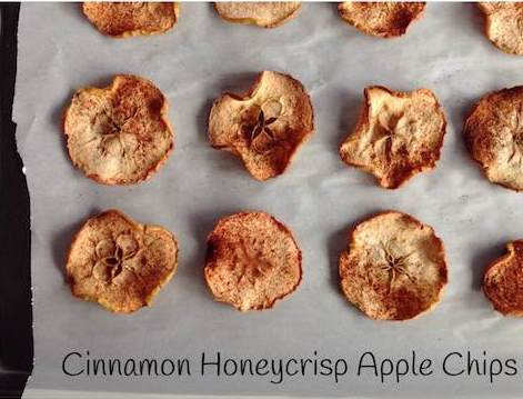 Cinnamon Honeyscrisp Apple Chips