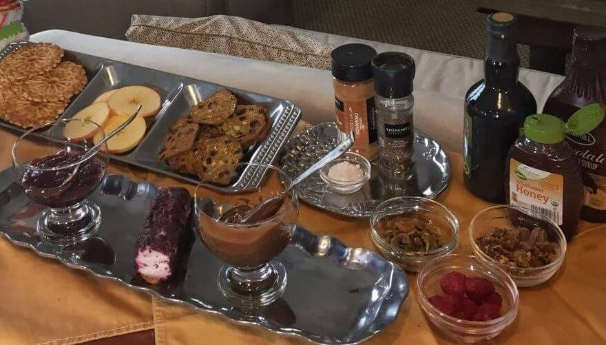 Dessert Crostini Bar - Last minute Holiday Recipes