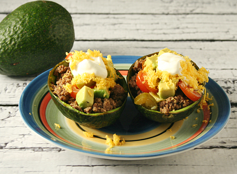 Taco-Stuffed-Avocado