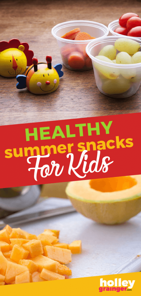 Healthy Summer Snacks for Kids, from Holley Grainger