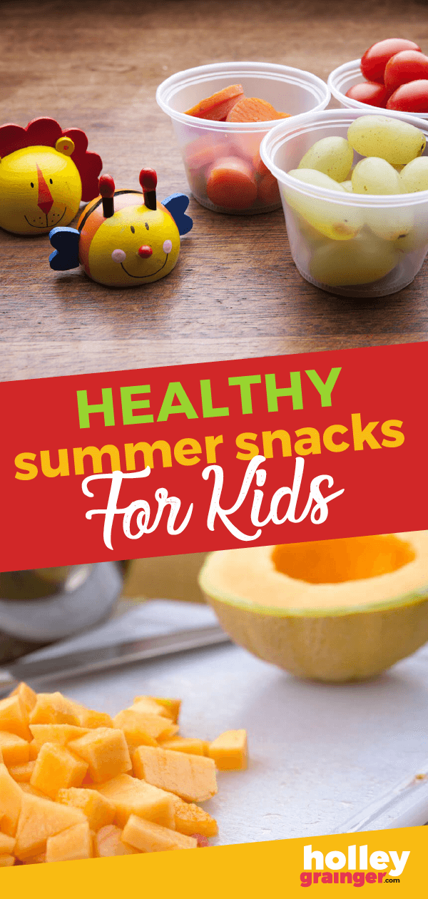 The kids are out of school which means that parents are scrambling for healthy summer snacks for their little ones. Let these 5 ideas guide you!
