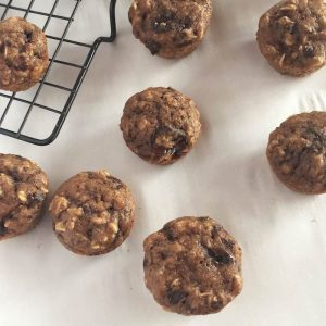 Double Chocolate Mini Muffins
