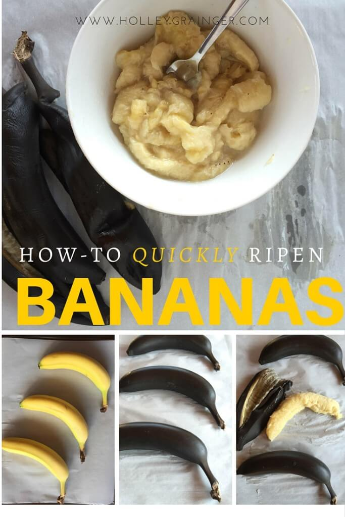 Image result for ripening a banana in the oven