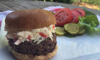 Pimiento Cheese Sliders via Holley Grainger Nutrition