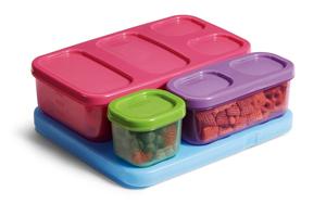 Rubbermaid Kid's Flat Lunch Kit