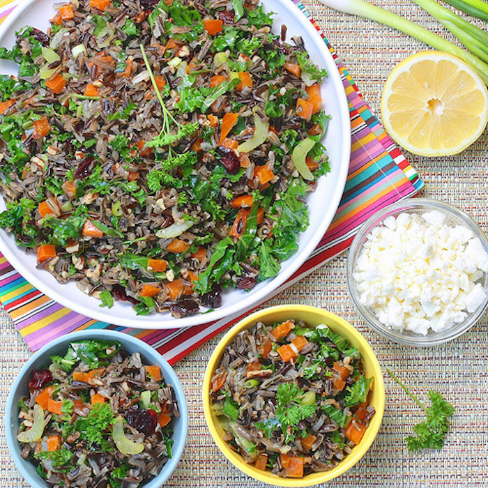 Wild Rice Summer Salad