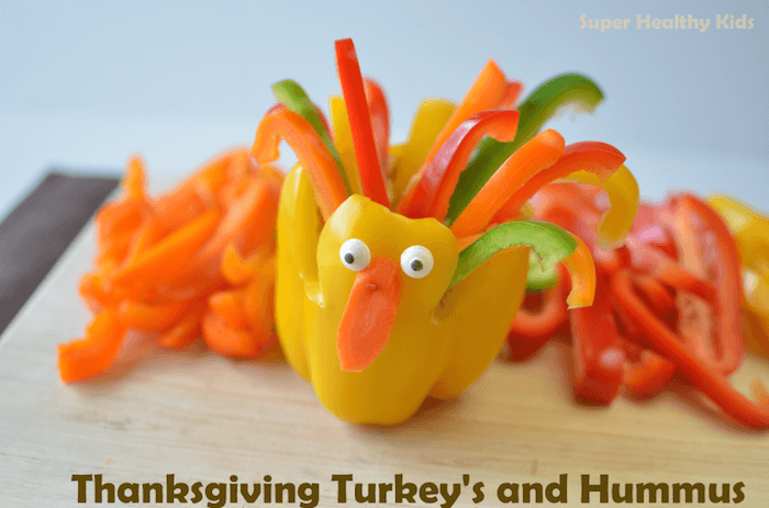 turkey shaped appetizer for thanksgiving