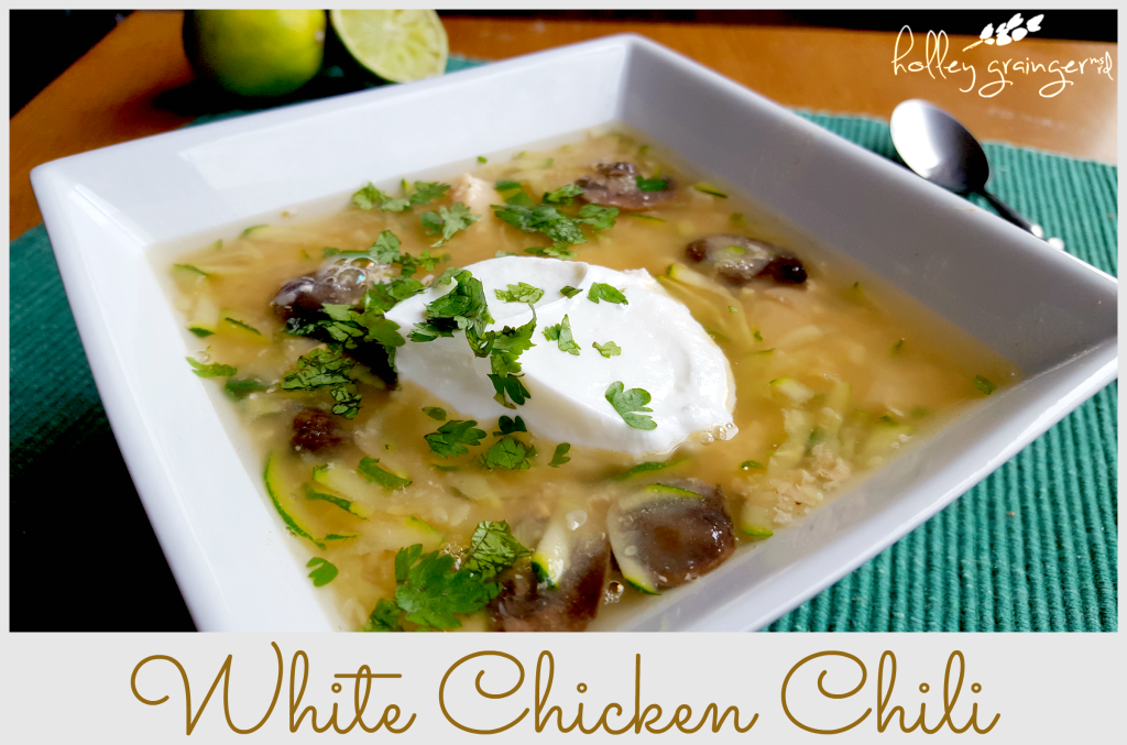 Easy, Slow Cooker White Chicken Chili