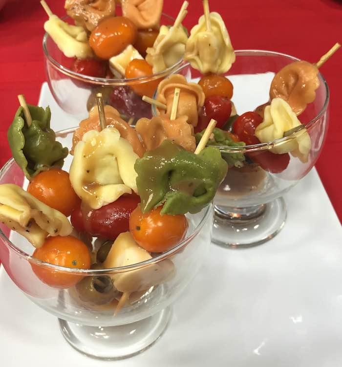 Antipasto Skewers via Holley Grainger Nutrition