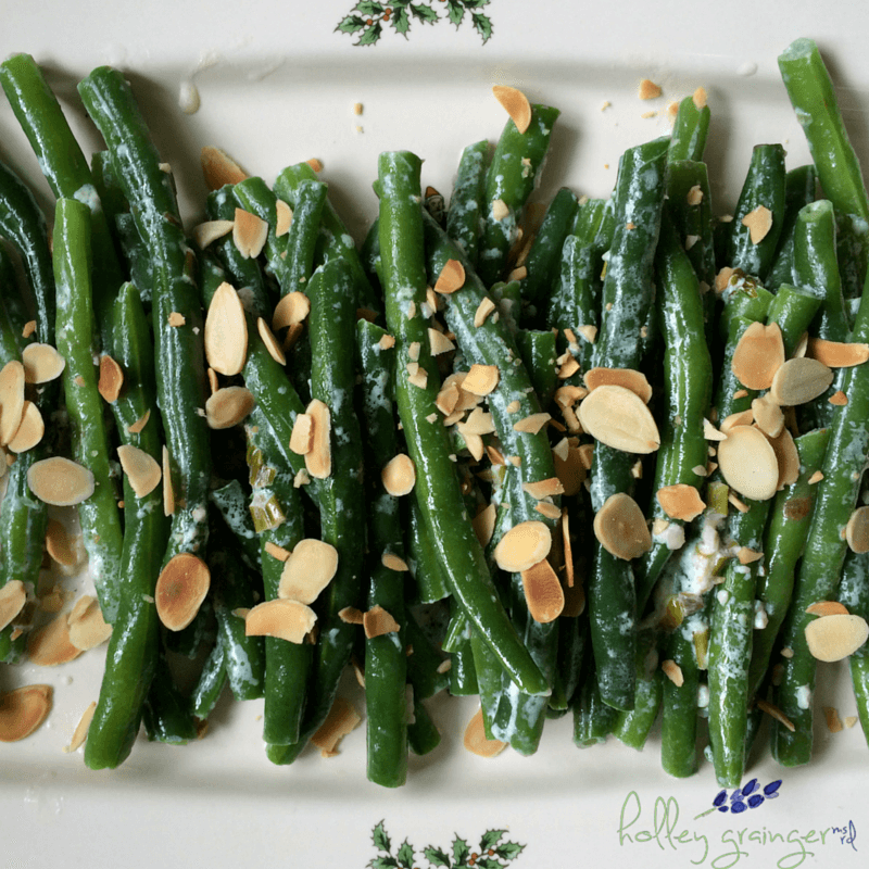 Lightened Up Green Bean Caserole