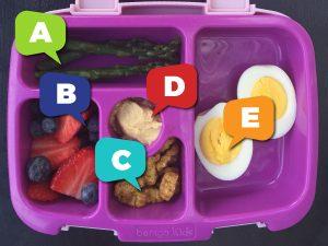 ABC Lunchbox Ideas