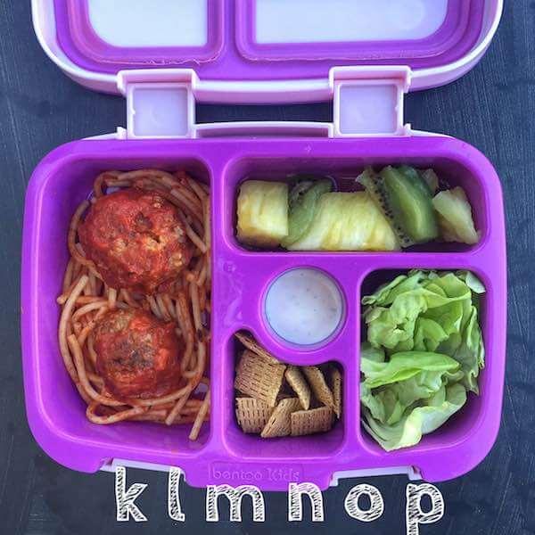 Alphabet Lunchbox letters K-P