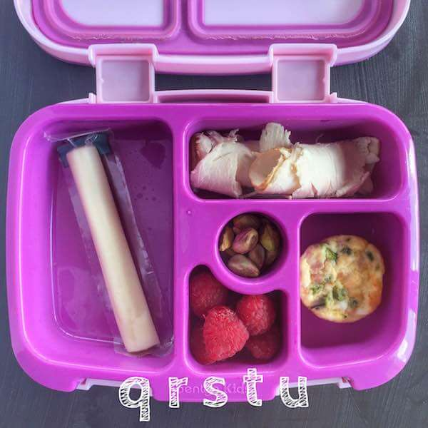 Alphabet Lunchbox letters Q-U