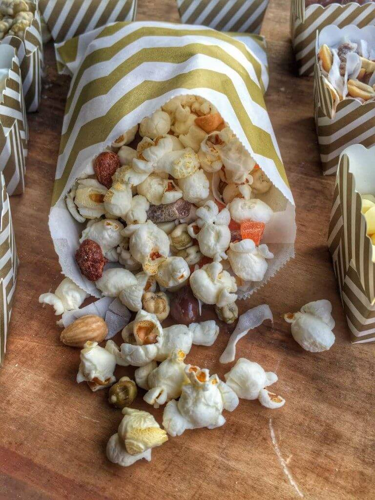 healthy summer snacks - Gourmet Trail Mix