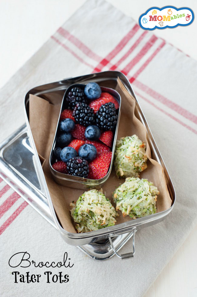 Broccoli-Tater-Tots - favorite lunchbox recipes