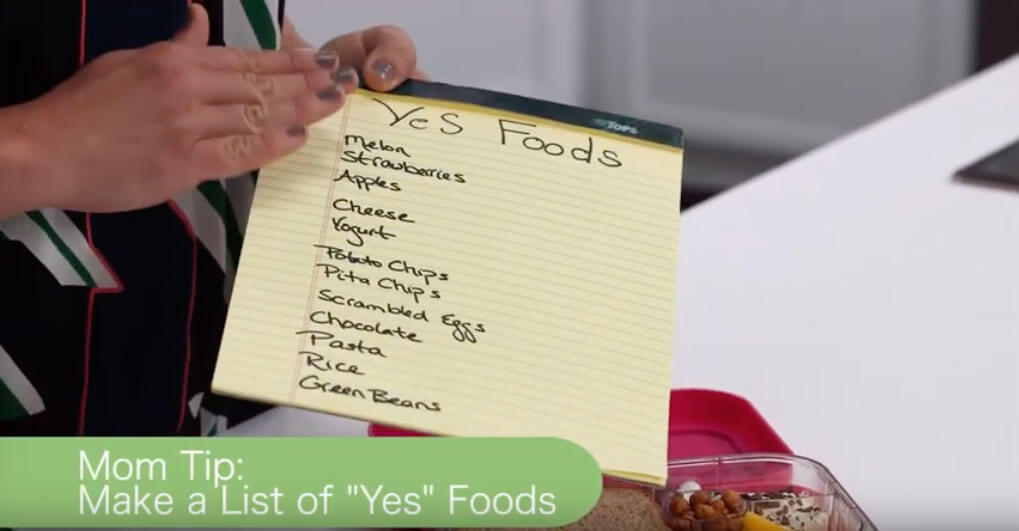 Make a Yes List of School Lunch Ideas for Picky Eaters