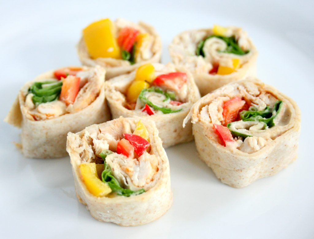 Hummus-Pinwheels