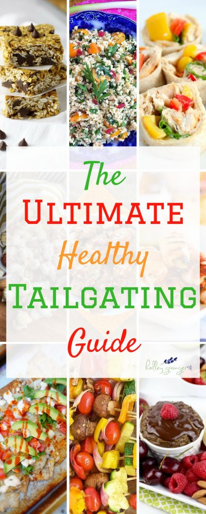 The fall is almost here bringing with it crisp air, all things pumpkin, and of course football! Finding a healthy treat at tailgates can be tricky. I've compiled the ultimate healthy tailgating guide to make tailgating tasty and nutritious!