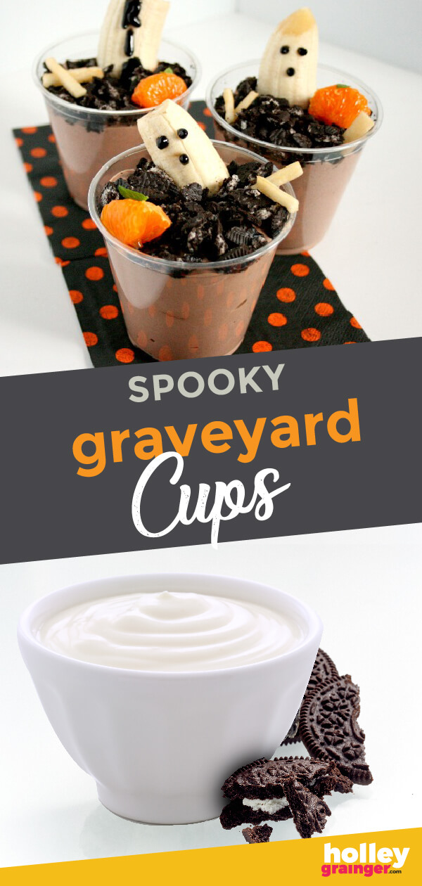 Spooky Graveyard Ghost Cups, from Holley Grainger