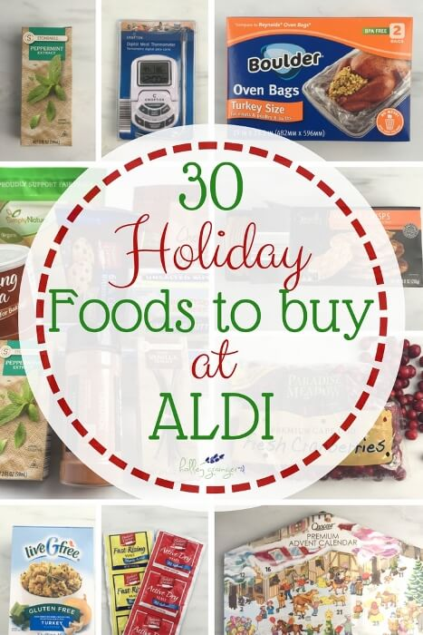 30 Healthy and Affordable Holiday Foods to Buy at ALDI