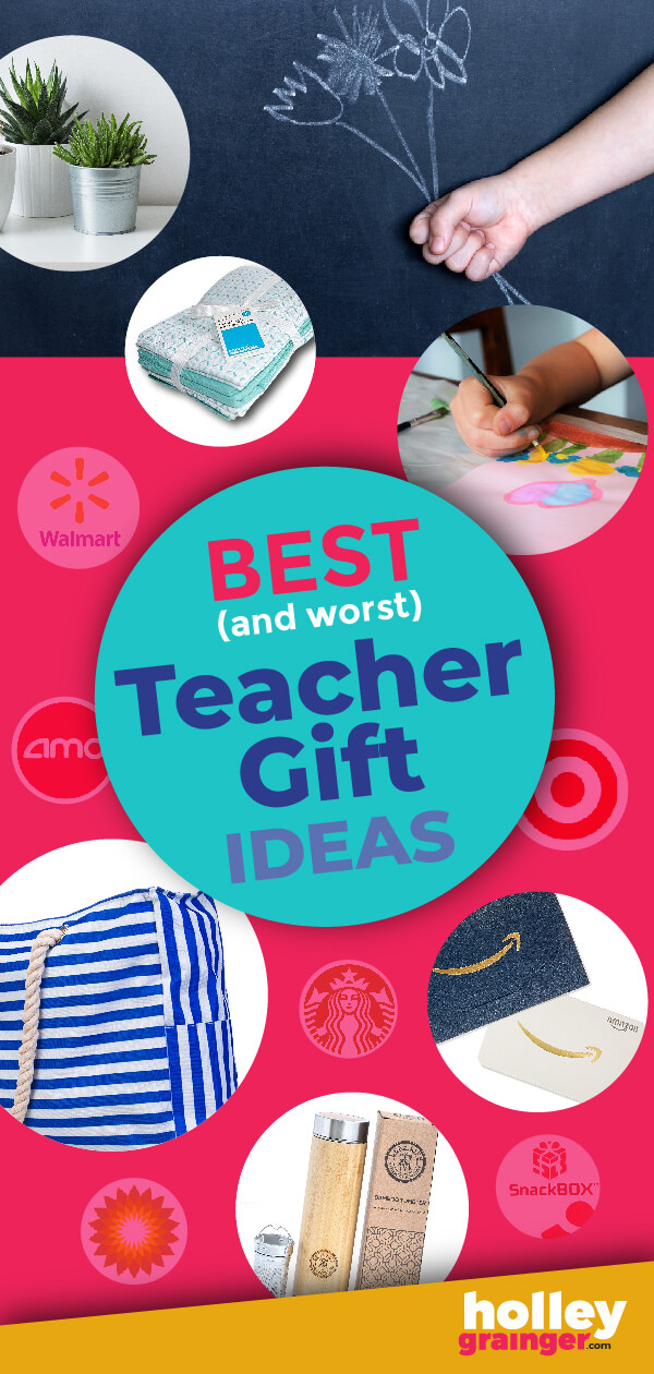 Choose one of these 100% teacher-approved teacher gift ideas to get moved directly to the front of the class. These simple and practical gifts were selected by teachers for teachers. Just be sure to watch out for ones that did not make the list.