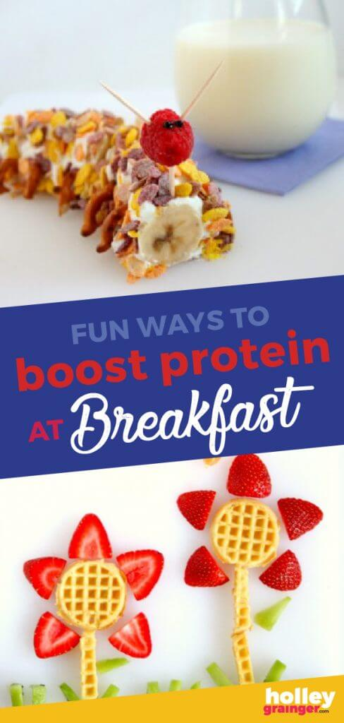 Fun ways to boost protein at breakfast, from Holley Grainger