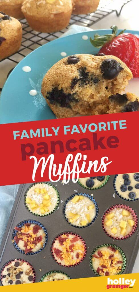 Family Friendly Pancake Muffins from Holley Grainger