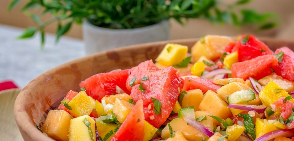 Sweet Heat Watermelon Salad