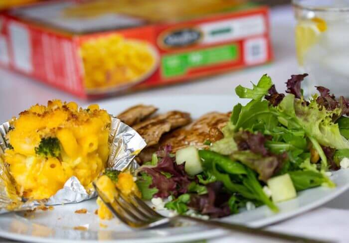 Veggie Mac and Cheese Muffins