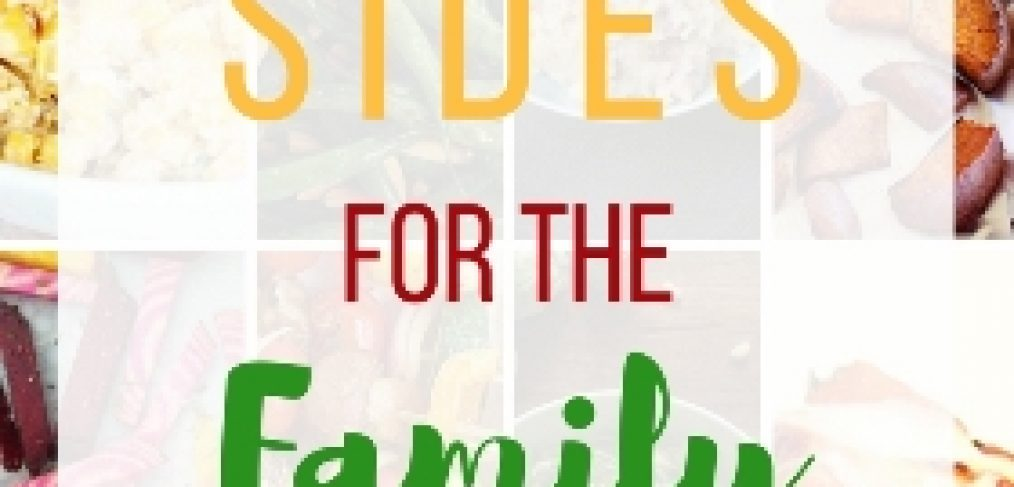 Finding time to cook dinner can be a challenge. Selecting healthy side dishes the whole family will love is even trickier. That's why I compiled a list of my favorite dietitian approved sides. These 20 easy sides for the family dinner are ready in no time! Trust me, your family will love these fun and healthy sides.