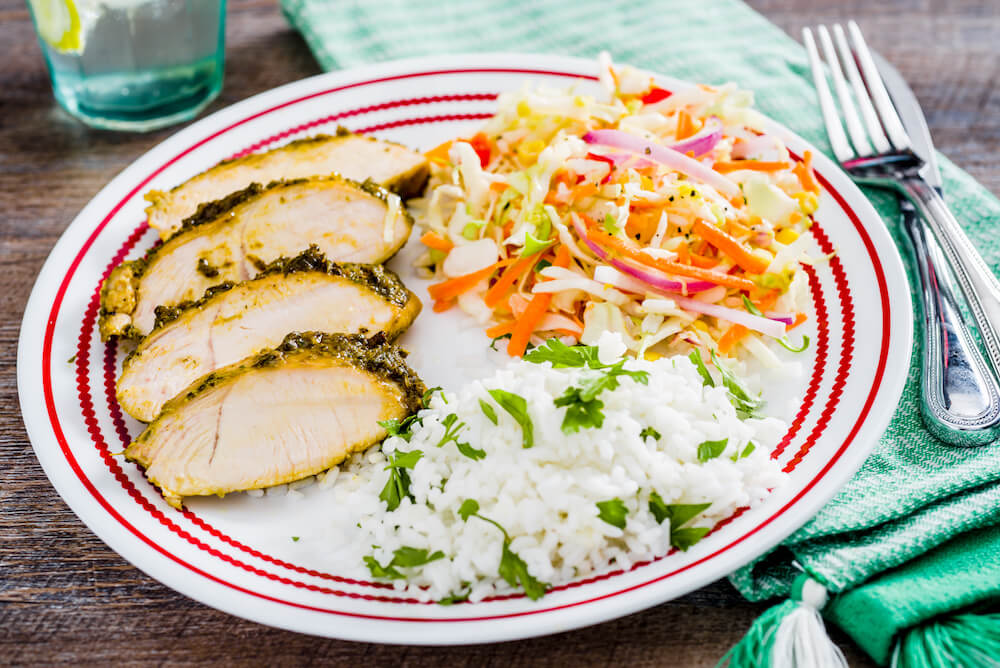 Entertaining? Add Poblano Roasted Turkey Tenderloins with Creamy Mexican Slaw to the menu for a simply delicious and flavor-packed fiesta.
