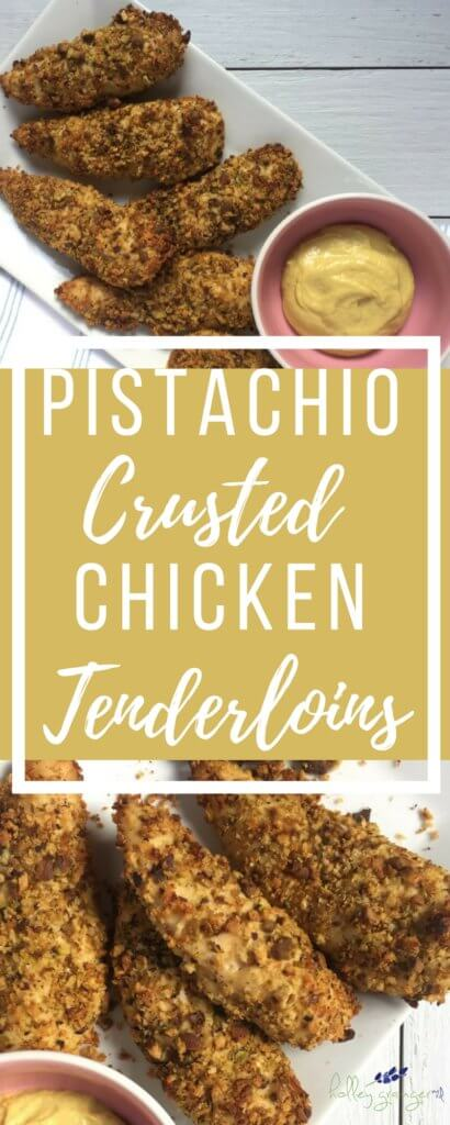 Pistachio-Crusted Chicken Tenderloins are a weeknight staplein our household. Add them to your menu rotation and I guarantee you they'll be a mainstay week after week!