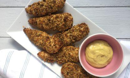 Pistachio-Crusted Chicken Tenderloins