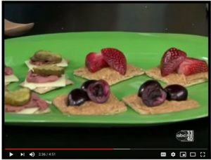 Sweet and Savory Snack Crackers (video), from Holley Grainger