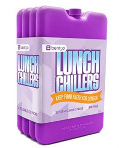 Lunch Chillers, Bento Box Ice Packs