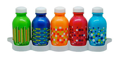 Water week reusable bottle set