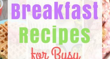 A new school year is right around the corner. Check out my 31 low sugar breakfast recipes for busy mornings.