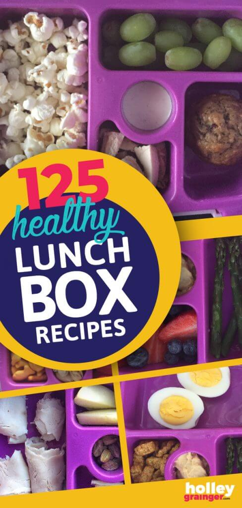 5 Healthy Lunchboxes for Kids from Holley Grainger