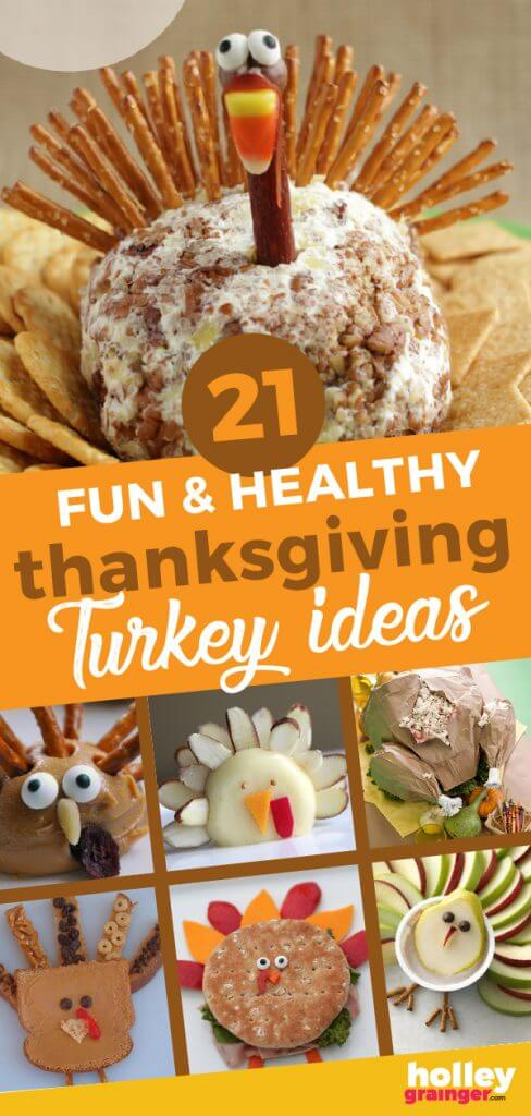 21 Fun & Healthy Thanksgiving Turkey Ideas from Holley Grainger