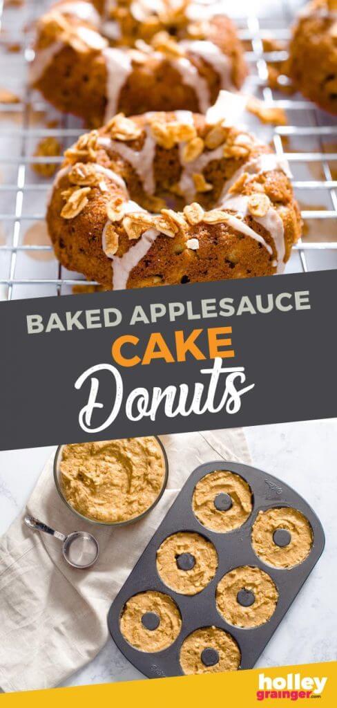 Baked Applesauce Cake from Holley Grainger