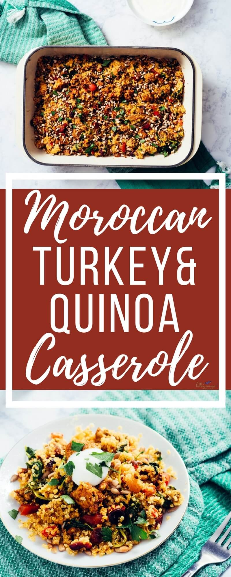 Looking for a simple, family-approved dinner idea that has all 5 recommended food groups and still tastes amazing? Moroccan Turkey and Quinoa Casserole has you covered.