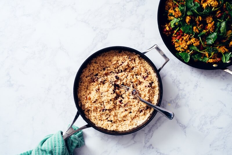 Looking for a simple, family- approved dinner idea that has all 5 recommended food groups and still tastes amazing? My Moroccan Turkey and Quinoa Casserole has you covered!