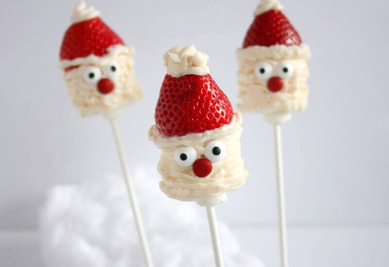 Kick off the season by making these adorable Santa Marshmallow Pops with your kiddos then share with friends and family to spread kindness and holidays cheer.