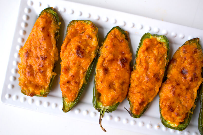 Chicken Enchilada Jalapeño Poppers