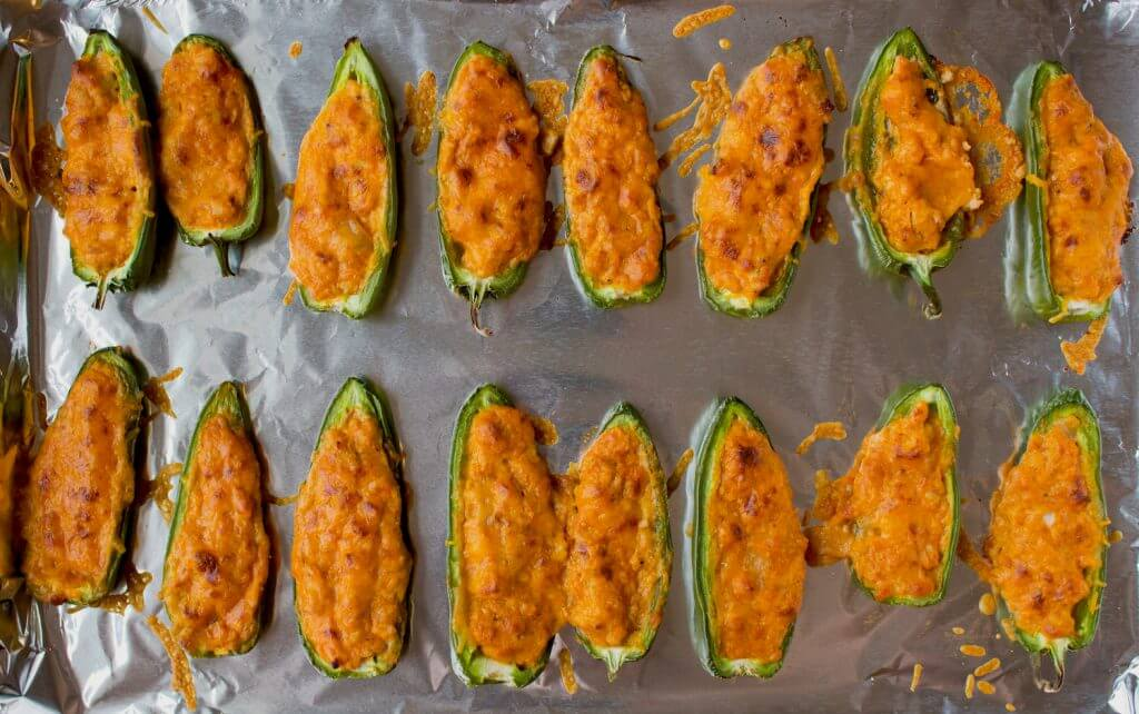 Chicken Enchilada Jalapeño Poppers