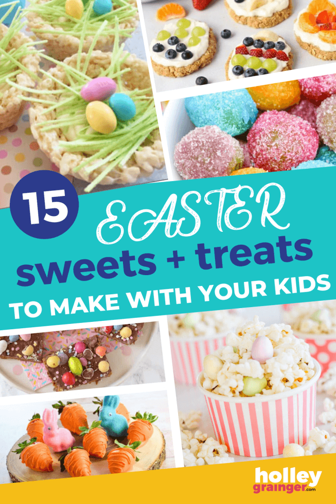 15 Easter Desserts to Make with Your Kids