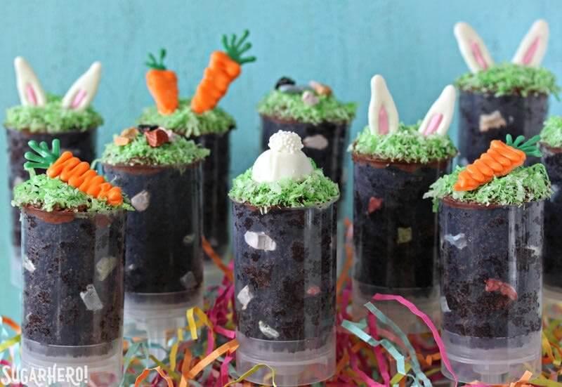 Clever Easter Dessert: Easter Cake Push Pops