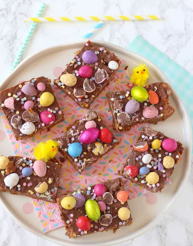 Easter Cornflake Crunch