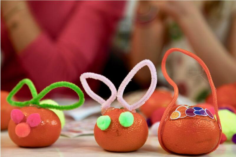 Easter Mandarins from Weelicious